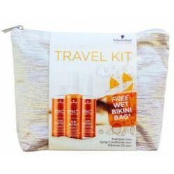 Schwarzkopf Bonacure Sun Travelkit + Ajándék bikini tartó táska