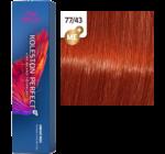Wella Koleston Perfect ME+ 77/43 - Aranyló Vörös Intenzív Középszőke 60 ml