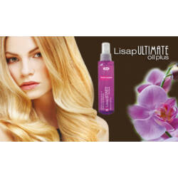 Lisap Ultimate Oil Plus spray  Keratinnal és Argán Olajjal 120 ml