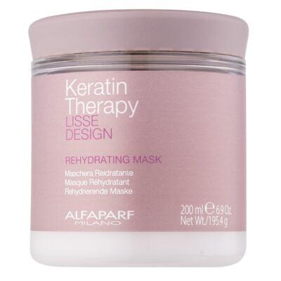 Alfaparf Lisse Design Keratin Therapy Rehydrating maszk 200 g
