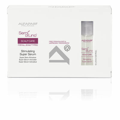 Alfaparf Semi di Lino Scalp Stimulating super serum 12*10 ml