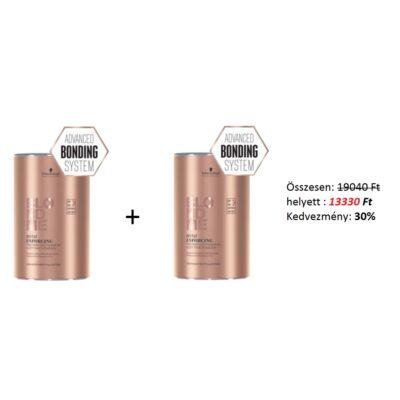 Schwarzkopf Blondme Bond Enforcing Premium Lightener 9+ Szőkítőpor 2 x 450g