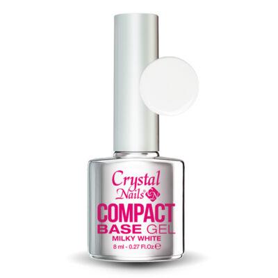CN Compact Base gel - MILKY WHITE 8ml