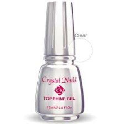 CN Top Shine gel átlátszó fény zs. 15 ml AKCIÓS!