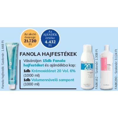 Csomagajánlatos Fanola hajfesték 100 ml -  15 db