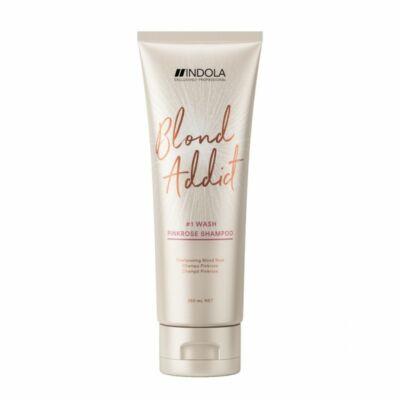 Indola Blonde Addict PinkRose Sampon 250ml