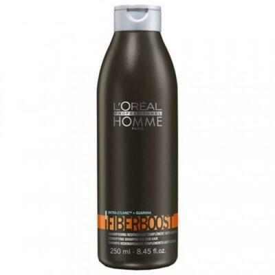 L'Oréal Homme Fiberboost sampon - vékony szálú hajra 250 ml