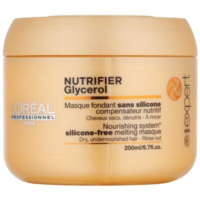 L'Oréal Série Expert Nutrifier pakolás - száraz, igénybevett hajra 200 ml