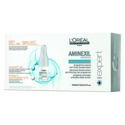 L'Oréal Série Expert Aminexil Advanced  hajhullás elleni kúra 10*6 ml