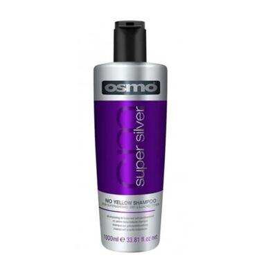 OSMO - Super Silver No Yellow Shampoo - Sárgaság elleni szulfátmentes hamvasító sampon 1000ml