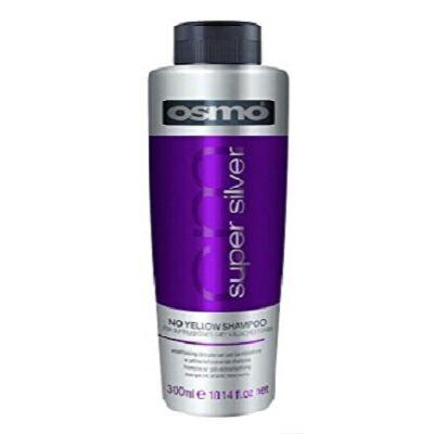 OSMO - Super Silver No Yellow Shampoo - Sárgaság elleni szulfátmentes hamvasító sampon 300ml