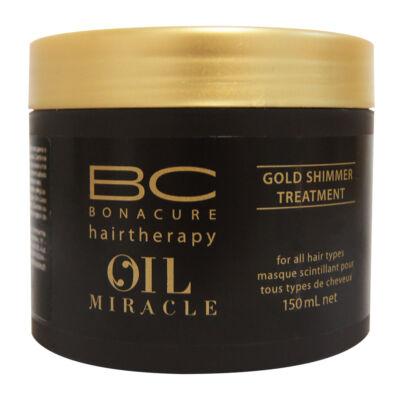 Schwarzkopf Bonacure Oil Miracle Arany fényű hajpakolás 150 ml