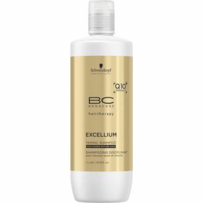 Schwarzkopf Bonacure Excellium Taming hajsampon - durva tapintású, érett hajra 1000 ml