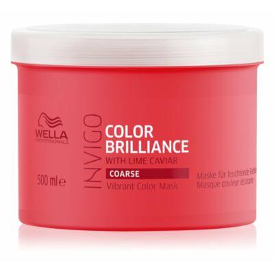 Wella Invigo Color Brilliance pakolás vastagszálú és festett hajra 500 ml